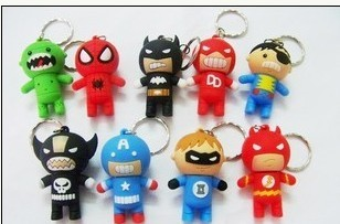Character flash drives